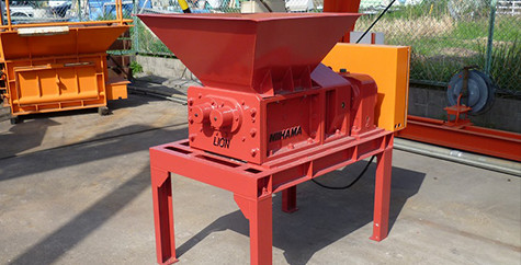 Small Size 2 Shaft Shredder