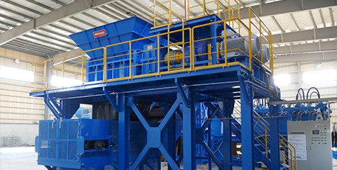 Large Size 2 Shaft Shredder