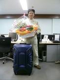 勝利の花束と記念品のプロテックス「Z-330」